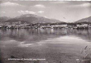 Austria Seeboden am Millstaettersee mit Gmeineck und Kaernten Real Photo
