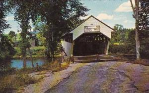 Porter Covered Bridge At Porter Maine
