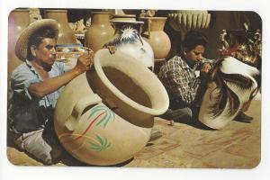 Mexico Hand Painted Pottery Tlaquepaque Jalisco Folk Art
