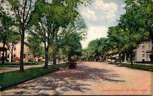 Minnesota St Paul View On Summit Avenue