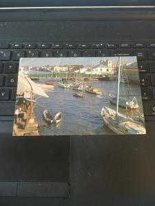Vintage Postcard; Belize City Swing Bridge