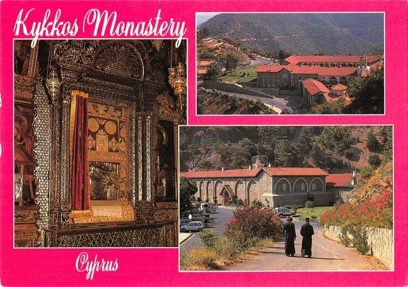 B108666 Cyprus Kykkos Monastery Interior Monastere real photo uk