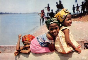 Postcard, Africa In Pictures, A Smile for Africa, Black Children, Happy 45Z