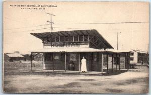 Chillicothe, Ohio Postcard An Emergency Hospital at Camp Sherman c1910s WWI