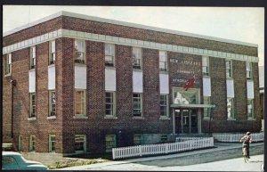 Ontario ~ NEW LISKEARD Community Hall, Front View Chrome 1950s-1970s