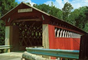 VT - Arlington (near). Chiselville Covered Bridge (Vermont)