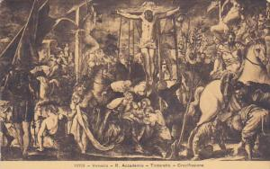 Italy Venice R Accademia Tintoretto Crocifissione