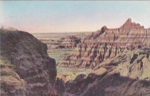South Dakota Wall Ocean That Never Saw Ships Badlands National Monument Alber...