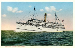 Cape Cod Steamship Co. - Steamer Dorothy Bradford