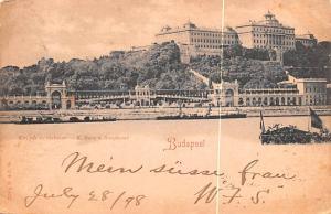 Budapest Republic of Hungary K Burg u Burgbazar Budapest K Burg u Burgbazar