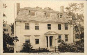 Gloucester MA Sargent Murray Gilman House c1915 Real Photo Postcard