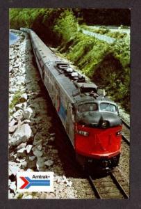 Amtrak Railroad Train Coast Starlight Seattle WA Los Angeles CA Postcard RR PC