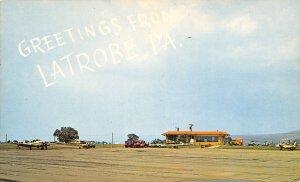 Tri City Municipal Airport Latrobe Pennsylvania postcard