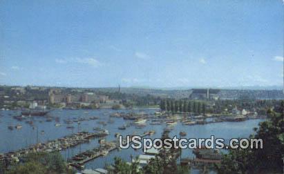 Portage Bay, Seattle Yacht Club / HipPostcard