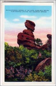 CO - Old Scotchman, Garden of the Gods, Colorado Springs