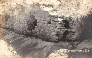 Walnut Canyon Arizona Cliff Dwelling Real Photo Antique Postcard K33737