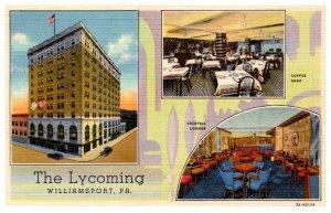 Pennsylvania  Williamsport The Lycoming million dollar Hotel