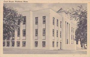 Massachusetts Waltham Court House
