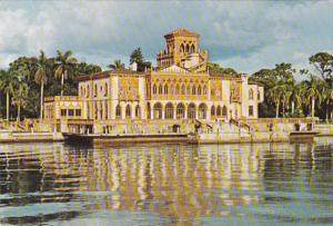 Florida Sarasota John Ringling Residence From Sarasota Bay