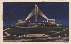 Missouri Kansas City Liberty Memorial 1937