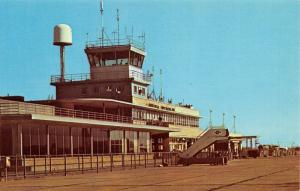 Fort Wayne IN~Baer Field Airport~American Airlines Portable Passenger Steps 1956