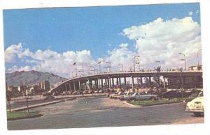 Puente Internacional Paso Del Norte Antes Santa Fe, Ciudad Juarez, Chih., M...