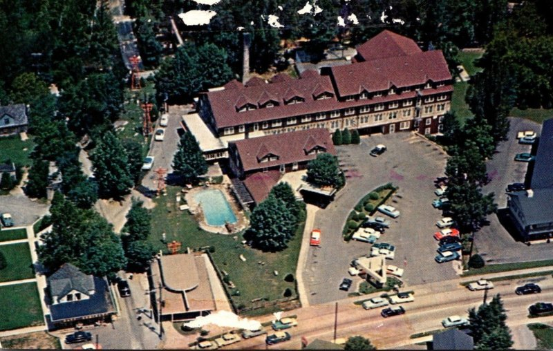 Tennessee Gatlinburg The New Gatlinburg Inn Aerial View