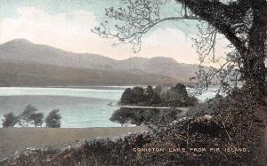 Coniston Lake from Fir Island Cumbria