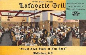 Lafayette Grill Walterboro, South Carolina