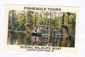 Fisheagle Tours, Scenic Wildlife Boat, Santee State Park, South Carolina, 194...
