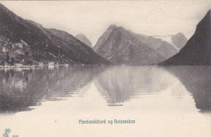 Fjoerlandsfjord Og Boiumsbroe, Norway, 1900-1910s