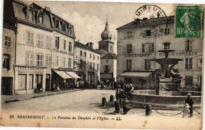 CPA REMIREMONT - La fontaine du (119760)