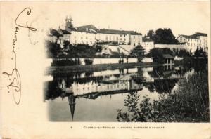 CPA CHARMES-sur-Moselle - Anciens remparts & Couvent (456284)