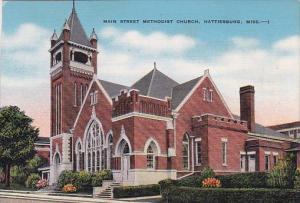 Mississippi Hattiesburg Main Street Methodist Church