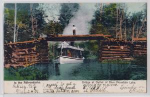 Bridge at Outley, Blue Mountain Lake NY