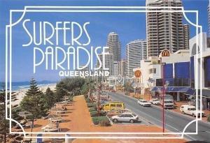 Australia Surfers Paradise Queensland, Gold Coast Raptiz Plaza and Broadwalk