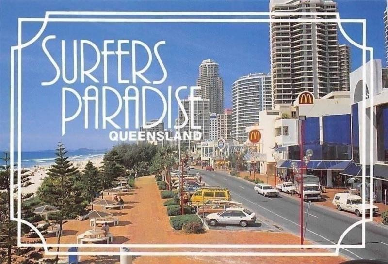 Carte Australie Surfers Paradise.Australia Surfers Paradise Queensland Gold Coast Raptiz