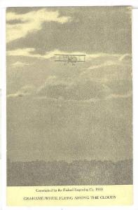 Grahame-White Flying among the Clouds, 1910