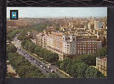 Castellana Hilton Hotel,Madrid,Spain Postcard BIN