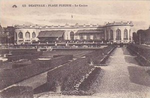 Steamship in new basin, Deauville (Calvados), France, PU-1921
