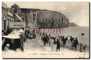 Old Postcard Ault La Digue has the & # 39Heure Bath