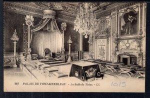 La Salle du Trone,Palace,Fontainebleau,France BIN