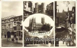 United Kingdom, UK, England, Great Britain Christ Church Gate & Cenotaph Cant...