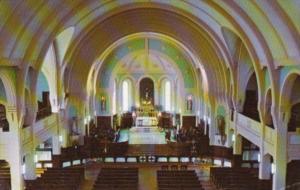 Canada Interieure de l'eglise St-Andre Abitibi Quebec