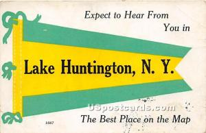 Expect to Hear From You Lake Huntington NY 1914