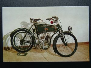 Isle of Man T.T. Races Motor Cycle Museum c1910 - Postcard by J Salmon