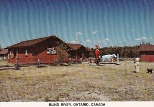 Canada Timber Village Museum In The Town Of Blind River Displays  Blind River...