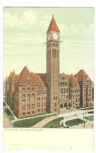 City Hall, Toronto, Ontario, Canada, 1900-1910s