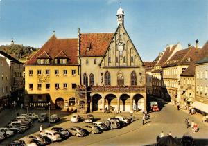 Amberger Rathaus Town Hall Vintage Cars Auto Voitures