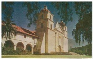 Postcard - Mission Santa Barbara, California
